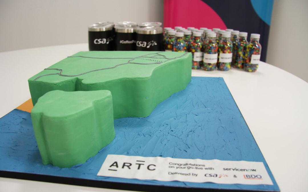 ARTC Celebrates ServiceNow ITBM Go-Live with CSA